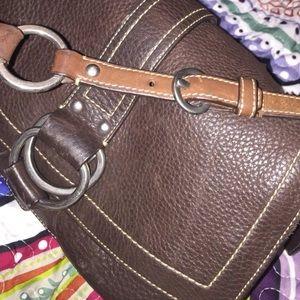 Authentic Coach shoulder bag brown